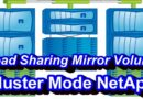 Load Sharing Mirror Volume In NetApp Cluster Mode
