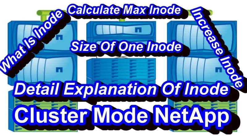 Inodes In NetApp Cluster Mode