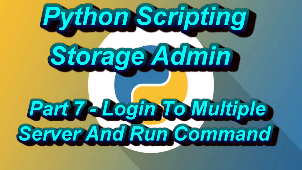 Python Script For Login Multiple Unix Server