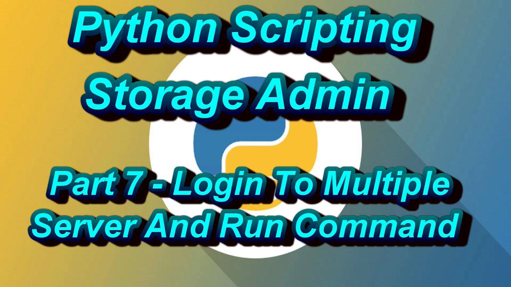 Python Script For Login Multiple Unix Server