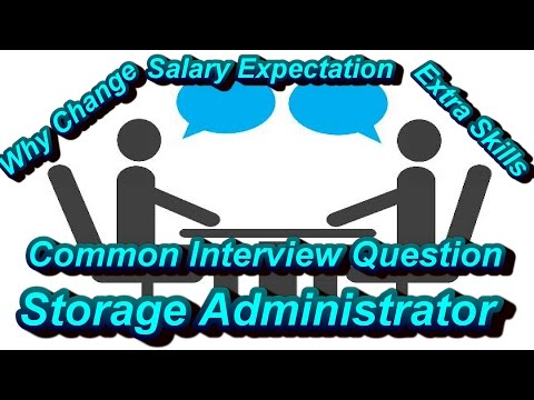 Interview Question for Storage Admin