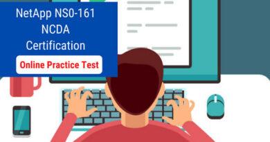 NetApp Certification NS0 161 Online Practice Test