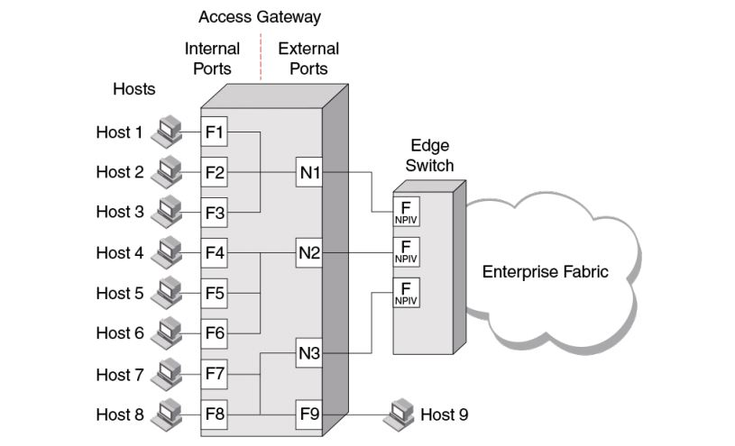 Access Gateway In Brocade SAN Switch