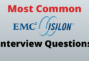 EMC Isilon Interview Questions