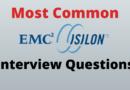 EMC Isilon Interview Questions